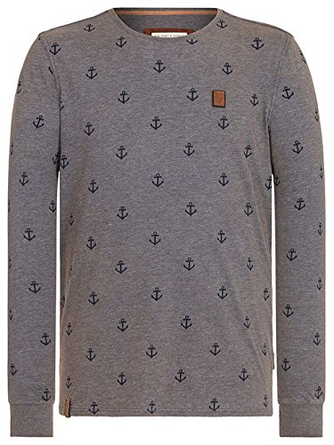 Naketano Male Sweatshirt Path Of The Dark Side II heritage indigo blue mela