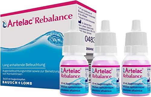 Artelac Rebalance Augentr 3X10 ml