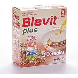 Blevit - Papilla 5 Cereales Superfibra Blevit Plus 600 gr 5m+