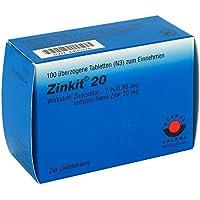 Zinkit 20 überzogene Tabletten 100 stk preisvergleich bei billige-tabletten.eu