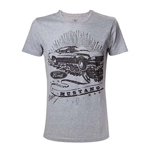 ford-mustang-vintage-mustang-t-shirt-gris-chine-l