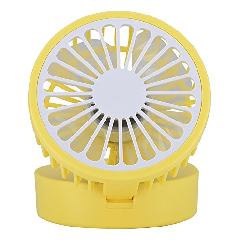 Eboxer Lemon Style Air Circulator Lüfter 3-Level-Anpassung Leistungsstarke Wind USB Desktop Fan...