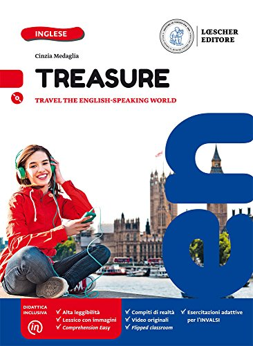 Treasure. Per la Scuola media. Con CD Audio formato MP3. Con e-book. Con espansione online