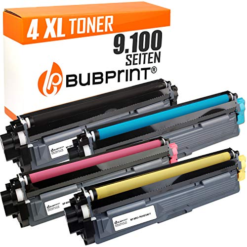 Bubprint 4 Toner kompatibel für Brother TN-242 TN-246 HL-3142CW MFC-9142CDN MFC-9332CDW DCP-9022CDW HL-3172CDW MFC-9342CDW HL-3152CDW DCP-9017CDWG1 -