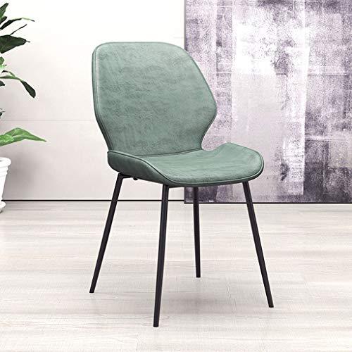 Bronze-leder-stuhl (YiHuiHui A + Metall Esstisch und Stuhl, PU Leder Rückenlehne Hocker, Computer Büro Leder Stuhl (Farbe : Bronze))