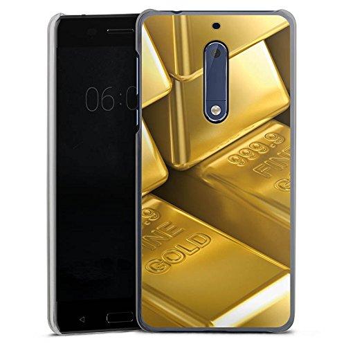 DeinDesign Nokia 5 Hülle Case Handyhülle Goldbarren Gold Barren