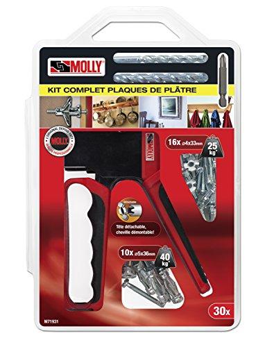 Molly M71931-XJ M71931 Kit d'Outils Gris