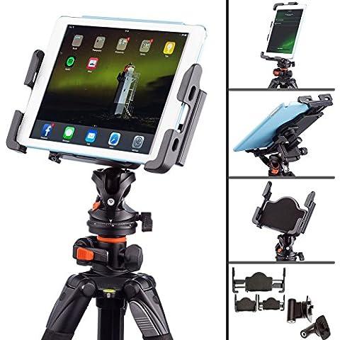 Ultimate Addons–Soporte adaptador de trípode de 1/4para tablet Apple iPad Air Mini y Samsung Galaxy