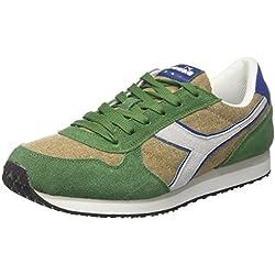 Diadora K-Run C II, Zapatillas de Gimnasia para Hombre, (Beige Incensoverde Golf Club), 40 EU