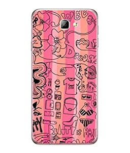 PrintVisa Designer Back Case Cover for Samsung On5 (2016) (like pink sweet dreams)