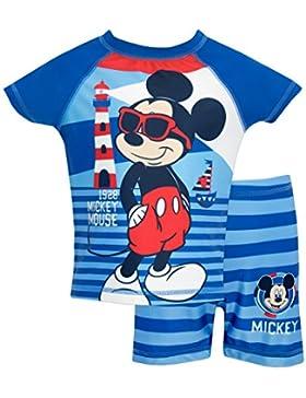 Mickey Mouse - Bañador de dos piezas para niño - Disney Mickey Mouse