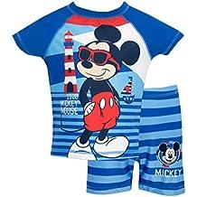 Disney Mickey Mouse - Bañador de Dos Piezas para niño Mickey Mouse
