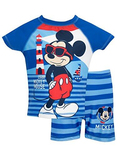 Mickey Mouse - Bañador de dos piezas para niño - Disney Mickey Mouse - 2 - 3 Años
