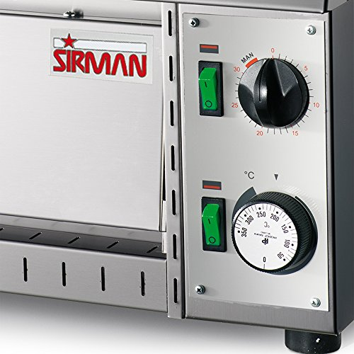 51xrxBlqljL. SS500  - Sirman Stromboli Commercial Pizza Oven, 1600 Watt