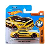 Hot Wheels Ford Shelby GT350R - Serie Muscle Mania 2017 - 2/10 (Short Card)