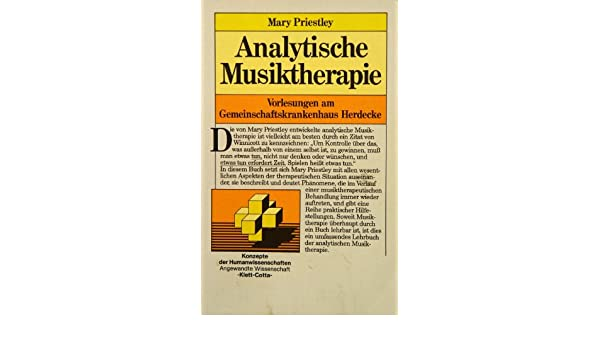 analytische musiktherapie vorlesungen am gemeinschaftskrankenhaus herdecke