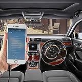 Aux Kabel 2m Syncwire 3.5mm Klinkenkabel - Audio Kabel für Kopfhörer, Apple iPhone iPod iPad, Smartphones, Echo dot, Heim/KFZ Stereoanlagen, MP3 Player und mehr - Nylon - 8