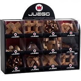 12 Giochi d'abilita rompicapo in legno – Juego