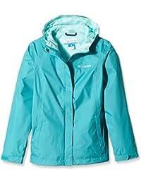 Columbia niñas 'Arcadia impermeable Col chaqueta de Arcadia–Miami, grande, niña, Arcadia Waterproof, Miami, XXS