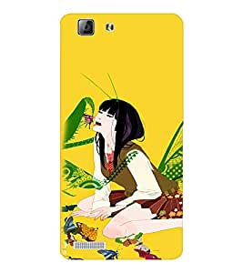 EPICCASE crazy chinese girl Mobile Back Case Cover For LENOVO A6600 (Designer Case)