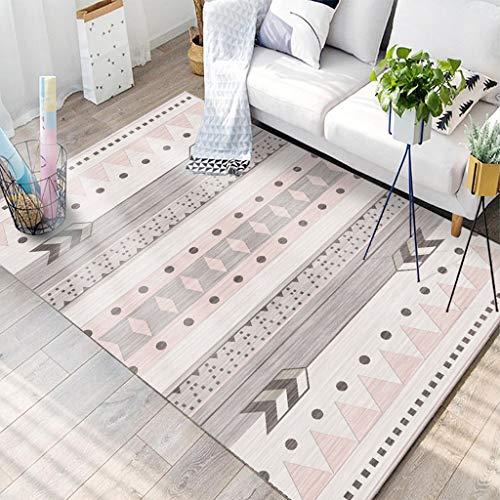 WINKJ Amerikanischer Ethnischer Artteppich, Wohnzimmercouchtisch-Sofadecke, Geometrischer Teppich,e,200 * 300 -