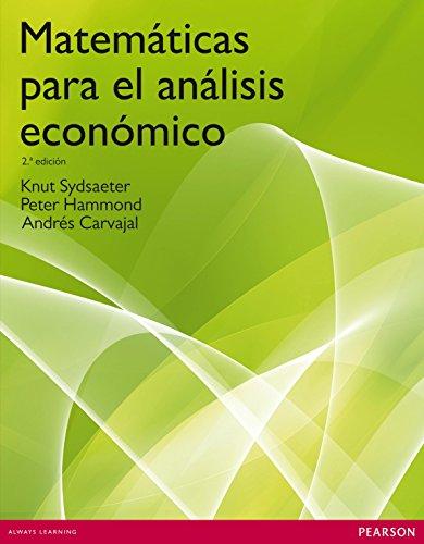 Matemáticas para el análisis económico