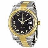 Datejust II Automatic 18kt Gold Bezel Mens Watch