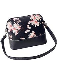 bolsos de las mujeres, FEITONG Printing Women Leather Shoulder Bag Purse Satchel Messenger Bag