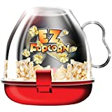 #6: EZ Popcorn Maker Small Fast Easy Mini poppers Microwave Ware Kitchen Movie Famil