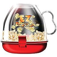 EZ Popcorn Maker Small Fast Easy Mini poppers Microwave Ware Kitchen Movie Famil