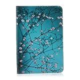 Für Samsung Galaxy Tab S2 8.0 inch SM-T710/T715 Hülle, Grandoin(TM) Retro Leder Foliant Buch-Stil-Art-stehender stoßabfangende Hülle, ausgezeichnete Qualität hübsche bunte elegante Muster-erstklassiges PU-Verschluss Design exakte vollkommend schützende Schnapphülle, passend für Samsung Galaxy Tab S2 8.0 inch SM-T710/T715 mit Ständer-Funktion