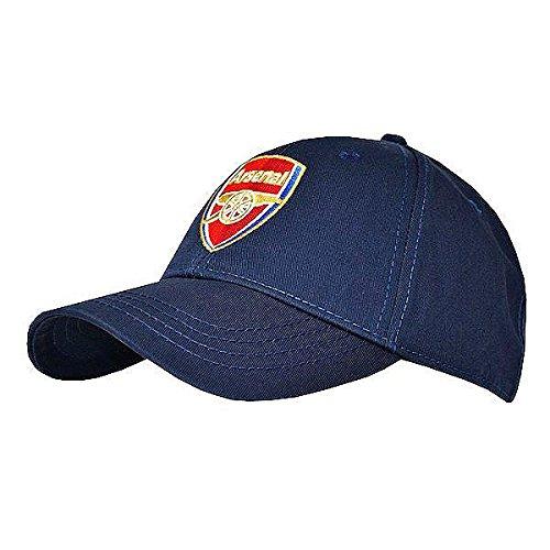 Arsenal FC Original marineblau Erwachsene Kappe - Arsenal-fußball-hut Fc