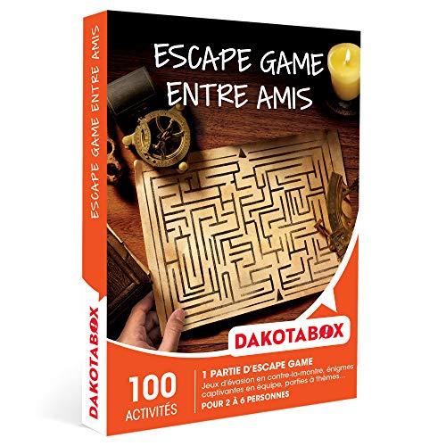 DAKOTABOX - Escape game entre amis - Coffret Cadeau Sport & Aventure - 1 partie...
