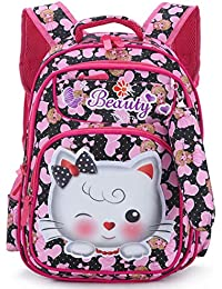 Tinytot Kitty School or School Backpack Bag for Girls with Pencil Pouch a48032f800
