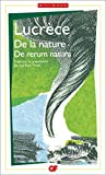 De la nature (De rerum natura)