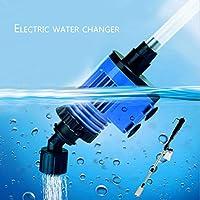 Acuario Cambiador de Agua Potente succión Feces de Pescado Bomba limpiadora Sifón eléctrico Aspirador casero para