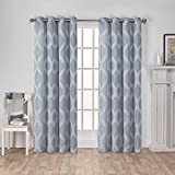 Exclusive Home Curtains Montrose Jacquard Grommet Top Window - Best Reviews Guide
