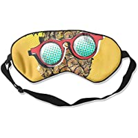 Comfortable Sleep Eyes Masks Glasses Pineapple Pattern Sleeping Mask For Travelling, Night Noon Nap, Mediation... preisvergleich bei billige-tabletten.eu
