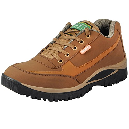 Fausto 3116-42 Brown Men's Hiking Shoes