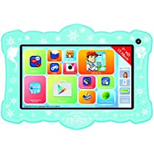 Lexibook mfc14 5de1y – Tablet con Frozen – Funda, Neon 7, color verde neón