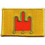 Écusson brodé Flag Patch France Auvergne - 8 x 6 cm