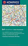 Fichtelgebirge mit Naturpark Frankenwald und Naturpark Steinwald: Wanderführer mit Extra-Tourenkarte 1:65000, 55Touren, GPX-Daten zum Download - (KOMPASS-Wanderführer, Band 5268) - Walter Theil