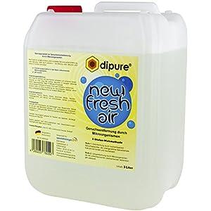 dipure® New Fresh Air Geruchsentferner mit Mikroorganismen – Geruchsneutralisierer/Geruchsvernichter gegen Rauch-Geruch, Nikotin-Geruch (Nikotinentferner), Moder-Geruch uvm.