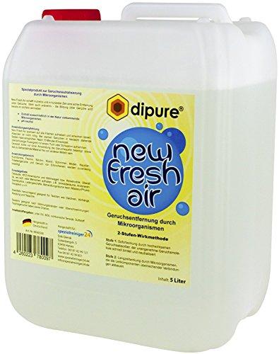 New Fresh Air Geruchsentferner mit Mikroorganismen 5 Liter (Geruchsneutralisierer gegen Rauchgeruch, Nikotingeruch, Modergeruch uvm.)