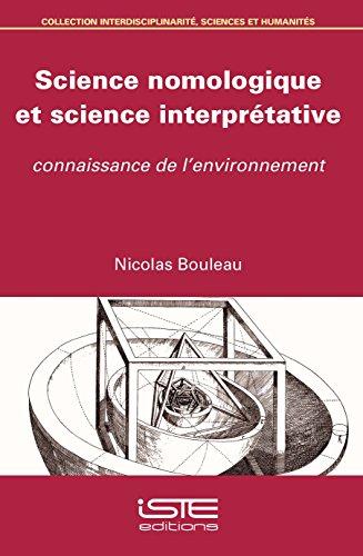 Science nomologique et science interprtative