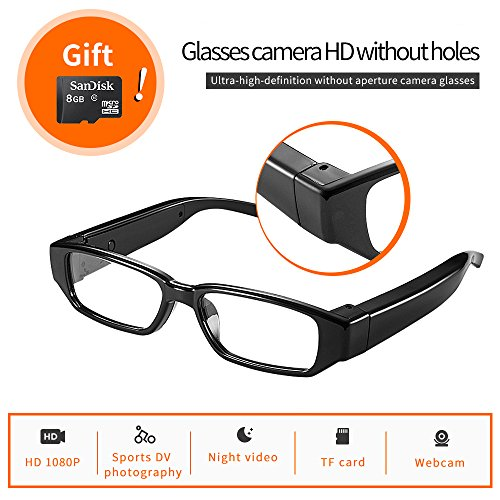 Wireless Camera Finder (Hidden Camera Eyeglasses Hd 1080P without hole camera - Fashion Loop Video Recorder special purpose for conference room parties)