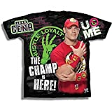Unbekannt Kinder T-Shirt John Cena Champ is Here Retro, Gr.:XL