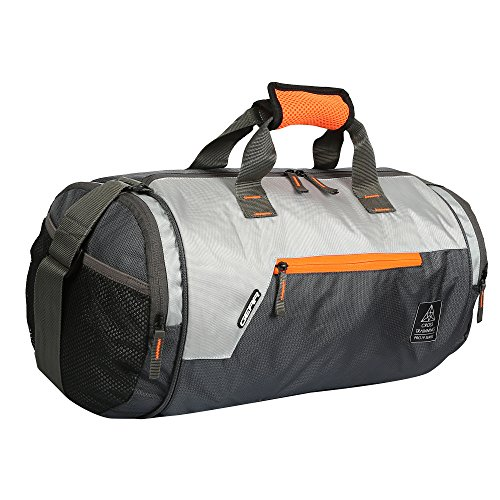 Gear Polyester 38 cms Grey Travel Duffle (DUFCRSTNG0406) Image 3