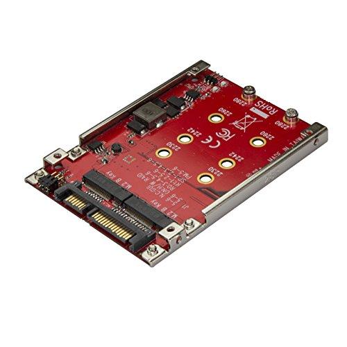 """Adaptateur pour deux disques SSD M.2 vers SATA - Convertisseur disque NGFF vers SATA dans baie de 2,5"""" - RAID"""