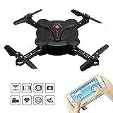Goolsky FQ17W 6-Axis Gyro Mini Wifi FPV pieghevole G-sensor Pocket Drone con macchina fotografica...
